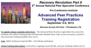 Recovery Opportunity Center - Advanced Peer Training