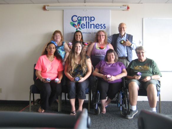 peer support camp wellness staff