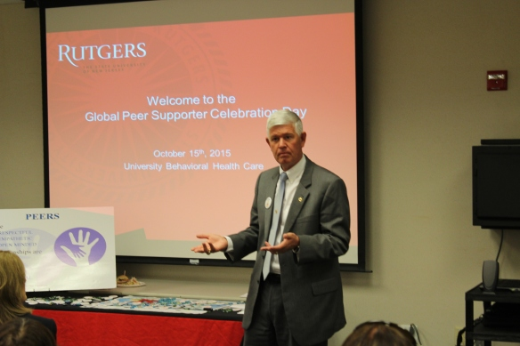 Rutgers UBHC Global Peer Celebration Day-General Graham