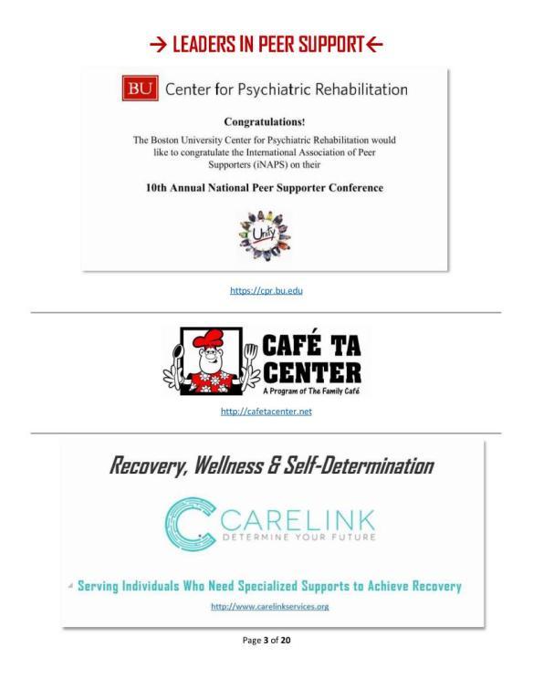10 Leaders - 2 BU, Cafe TA, Carelink